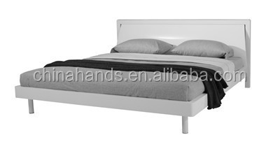 Factory Wholesale Wooden Queen Bed/Bedroom Furniture/Bedroom Wooden Bed