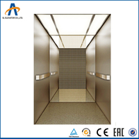 825kg 11 person FUJI VVVF good quality machine room Passenger elevator and lift from Sino-foreign Joint venture