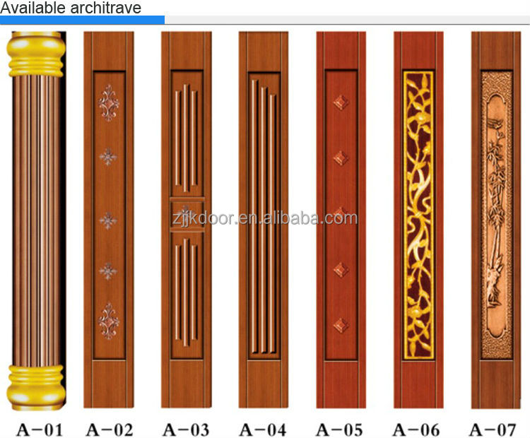 Jk c9032 jiekai indian main door designs safety iron for Indian house main door designs