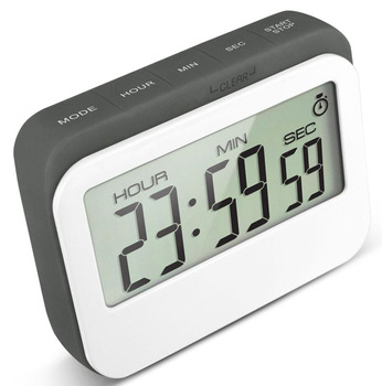 J&r Mechanical Large Screen 24 Hour Time Alarm Cube Kitchen Cooking Timer -  Buy Unique Kitchen Timer,Sound Kitchen Timer,Novelty Kitchen Timers