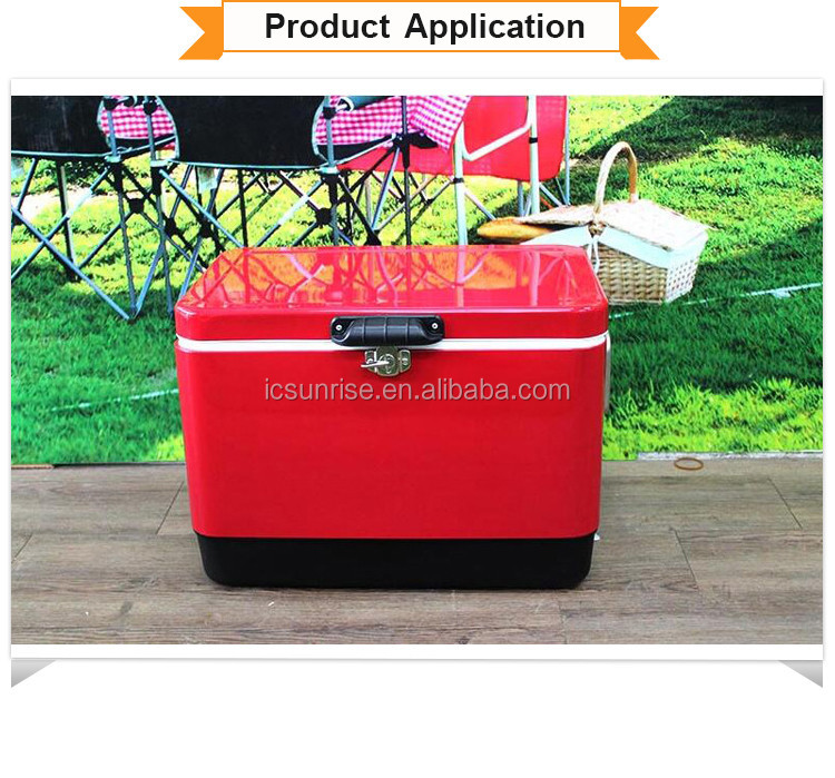 Promotional Eco-friendly large rotomolded cooler box