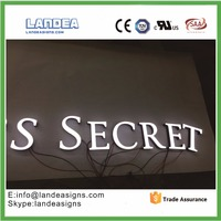 Stainless Steel Acrylic Frontlit Led Letter Channel Signage For Outdoor Advertising