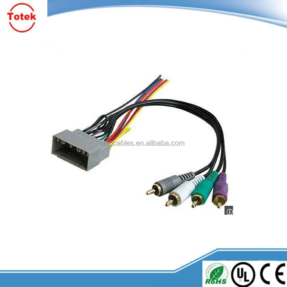 Radio stereo clear sound system wiring harness