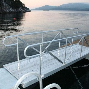 HDG Long and Competitive Aluminum Marina Pontoon Dock With Gangway Finger Pontoon