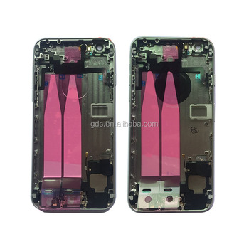 Full Back Housing Cover Complete Middle Frame Chassis Battery Door Case For Phone 6
