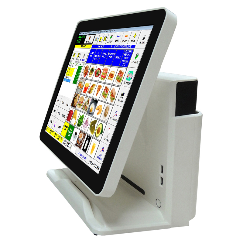 "NT-Q3 Restaurant 64GB SSD Atom CPU 15"" Led Touch Screen POS System"