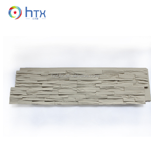 Polyurethane PU foam panel exterior decorative siding faux brick stone wall panel