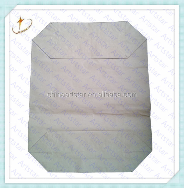 Brown Paper Cement Valve Bag For Self-leveling Cement