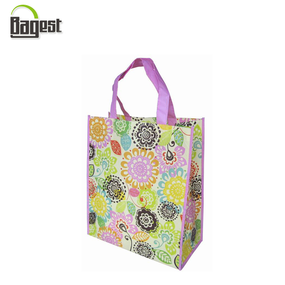 Wholesale Cheap Price Promotional Recycled PP Woven Gift Tote Bag