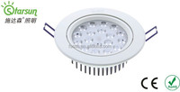 cheapest 18w high power led false ceiling lights with ROHS