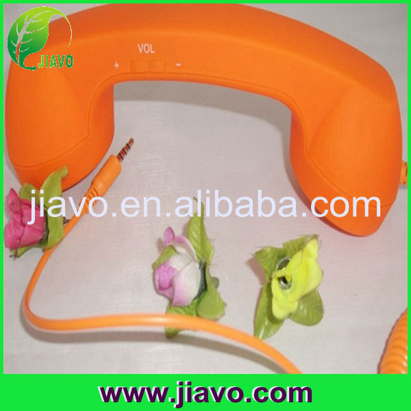 Good quality retro corded mobile phone handset for iphone
