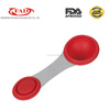 Durable Stainless Steel Silicone Material Measuring Spoon