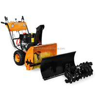 snow sweeper snowblower snow cleaning machine with Loncin snow power