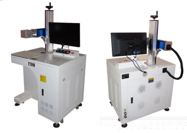 metal laser engraving machine 50W 30w 20w fiber laser marking machine