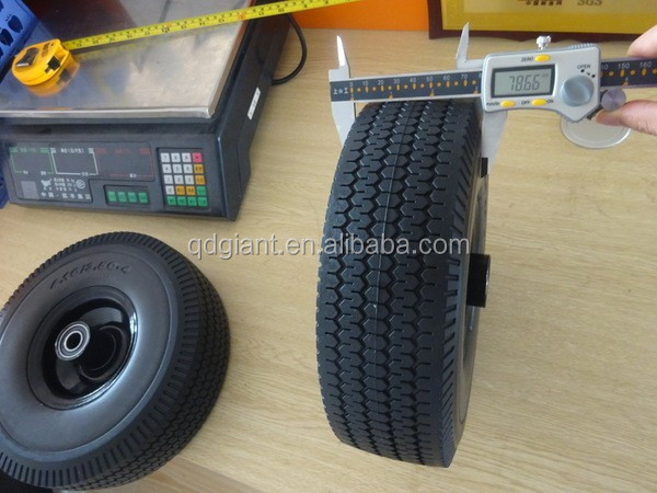 pu foam wheel 10x3.50-4