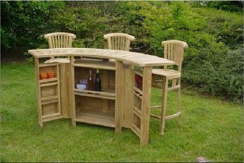 Tuin Bar Patio Set