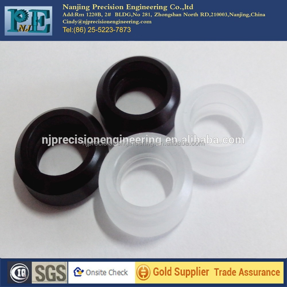 High precision <strong>cnc</strong> turning plastic belt pulley for auto parts