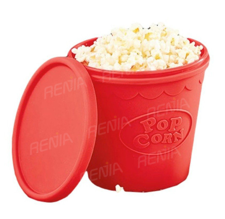 Renjia Silicone Popcorn Scoop Boxes Popcorn Storage Personalized ...