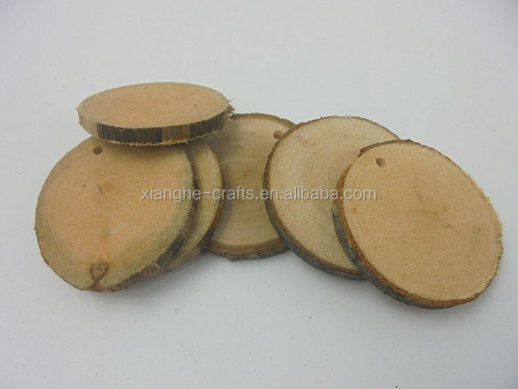 Hot selling popular wood small round shapes natural color special style large quantity/decorative wood round shape