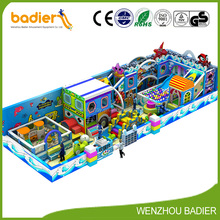 New Arrival indoor playground toys ball cannon playground and shooter indoor naughty castle for school children