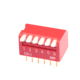 1-12 pin excellent quality and price slide connector SMD/SMT piano type dip switch