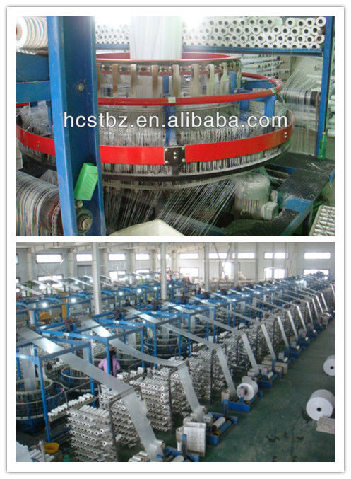 recycle material blue pp woven roll,fabric or raffia