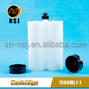 1500ml1:1 pneumatic caulking gun for chemical container