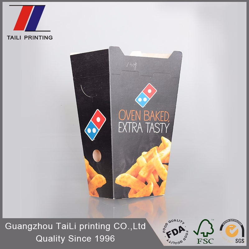 Customized Eco Friendly Disposable Paper French Fries Packaging ...