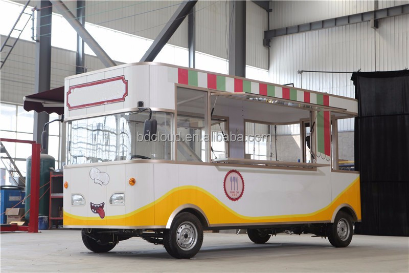 New fashion outdoor mobile fast food cart / coffee store for sale