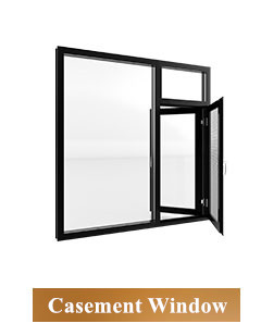 General Aluminum Security folding sliding window