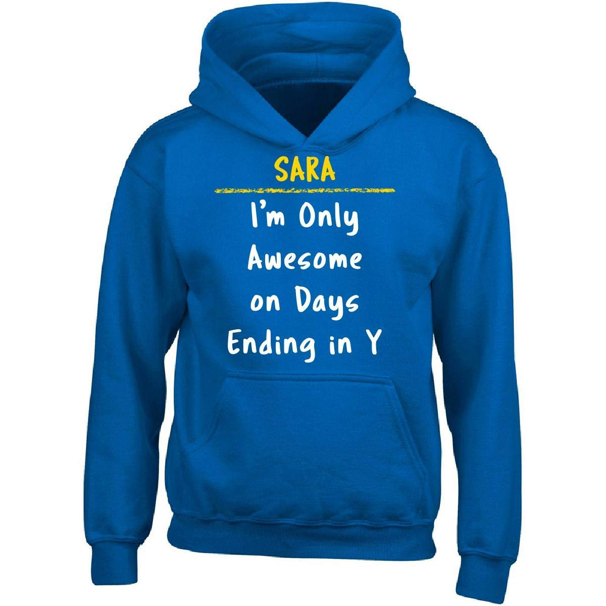 Sierra Goods Sara Awesome Sarcastic Funny Saying Name Office Gift - Adult Hoodie
