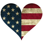 Many Options USA Flag Die Cut Stickers Waterproof Sticker Decal