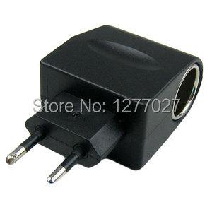 100 - 240 В переменного тока в постоянный автомобилей ес прикуривателя адаптер питания конвертор #9260 0 qrR