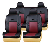 Full set pvc pu leather car seat cover