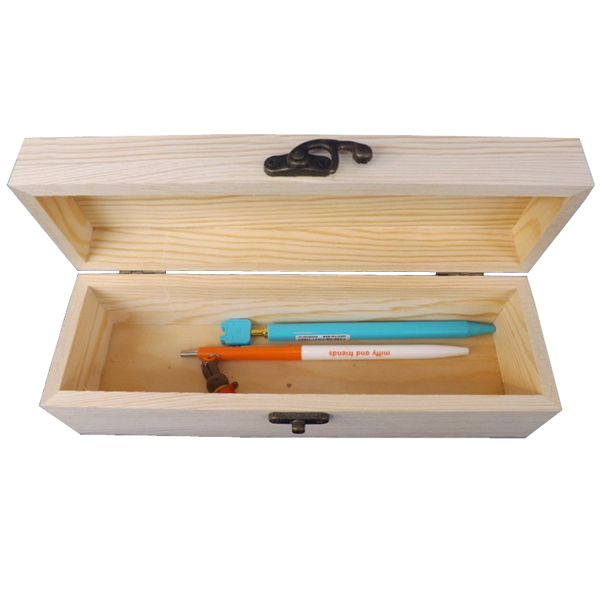 Customized Logo Eco-friendly Wood Storage Box