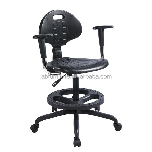 lab bench chairs adjustable esd lab stools chair with armrest