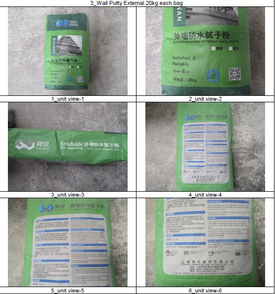 White Cement Based External Wall Leveling Plaster