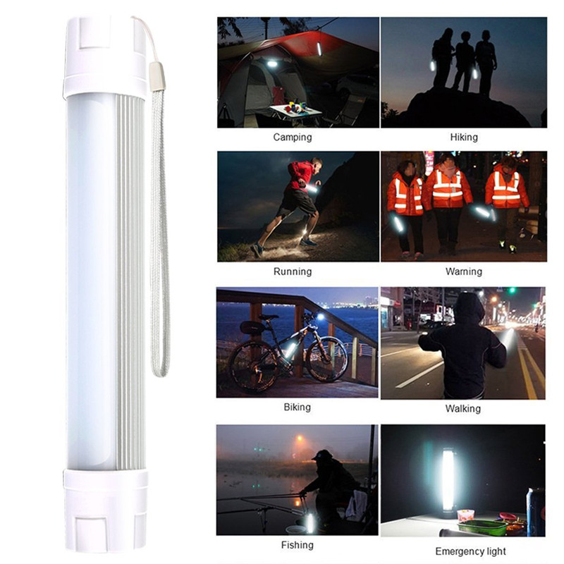 Aluminum Alloy LED Flashlight Long distance lighting Solar emergency Light