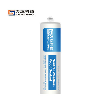 Bathroom Aluminum Windows and Doors Grease-proof Quick Drying Acrylic Sealant
