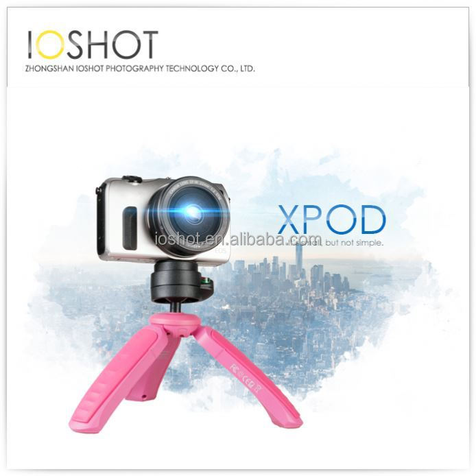 3 Legged Way Monopod Mini Tripod
