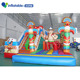 Giant inflatable city kids giant toys inflatable jungle fun city for children