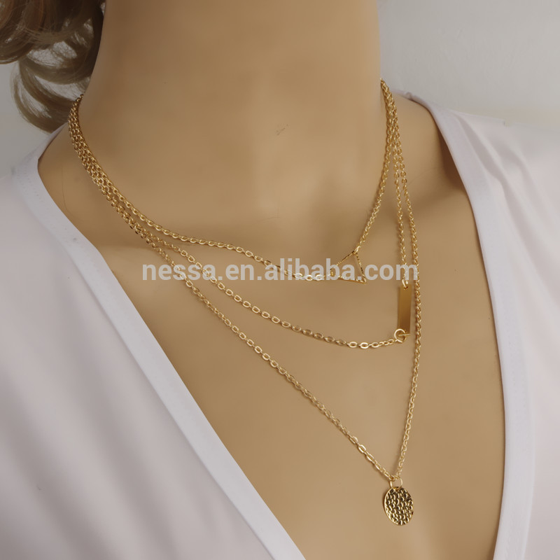 Fashion Gold Necklace Designs In 10 Grams Wholesale Xrnk-0002 ...