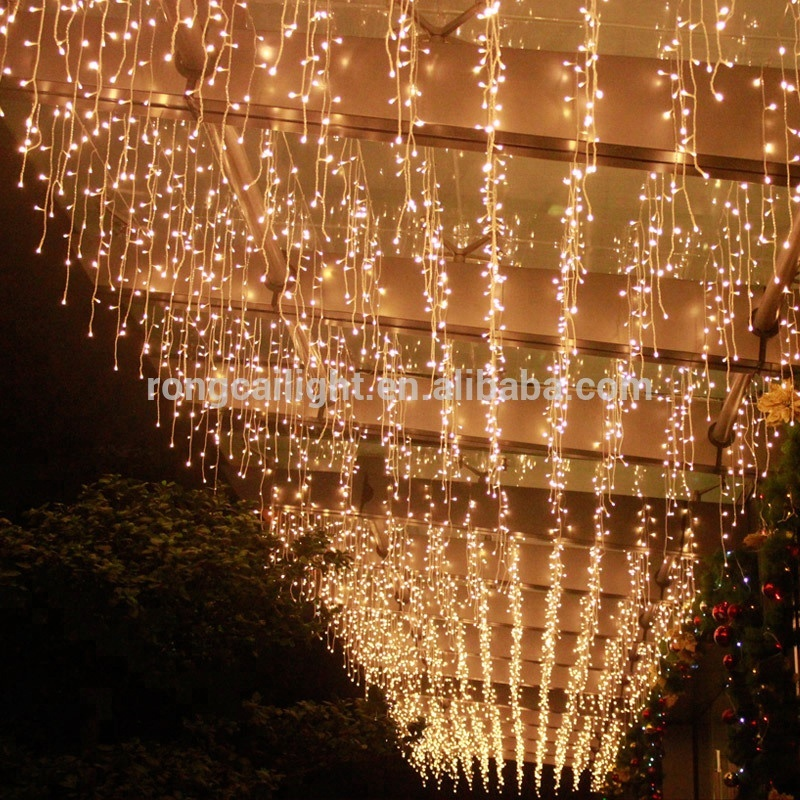 China fabrikant goedkope decoratieve led gordijn licht Outdoor ramadan Decoratie Droop 0.6 M 1 M 2 M string lights