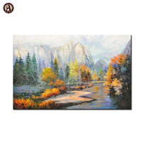 Actual image show Home goods wall types art canvas tree painting on wall