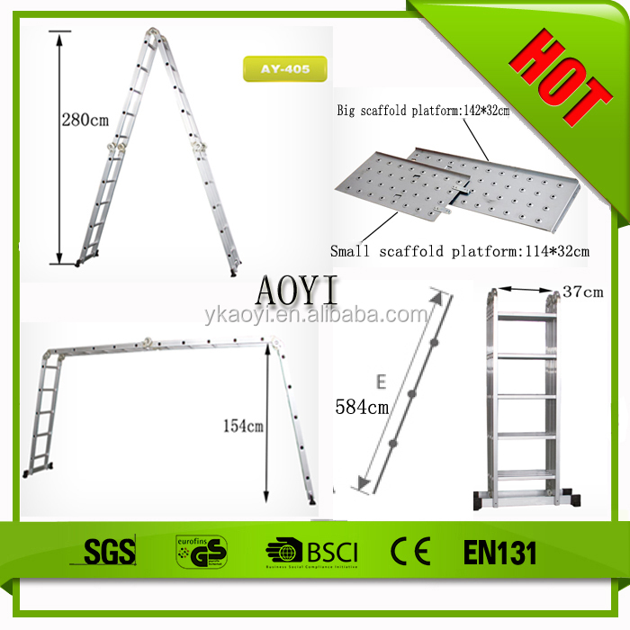 AY china supplier roof top tent safety lock folding ladder hinge
