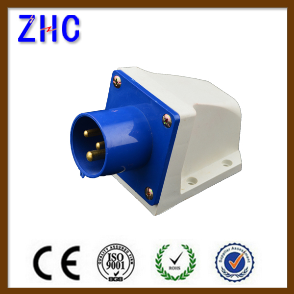 63A 220V water protect electrical power industrial outlet