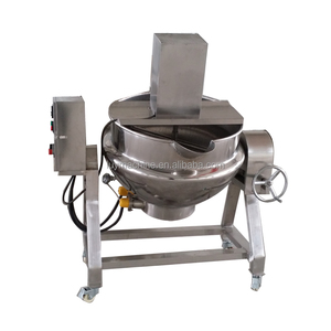 Factory price stainless steel food mixer heated