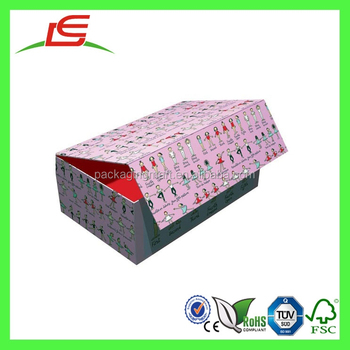 J303 China Supplier Wholesale Magnetic Cardboard Doll Storage Boxes
