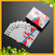 015 VLS 270gsm China APP Brand OEM Playing Cards with Company Logo