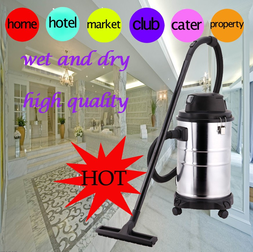 workshop car wet&dry industrail vacuum cleaner water proof filter with bag stainless steel rechargeable vacuum cleaner